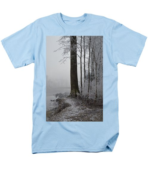 Steep And Frost Men's T-Shirt  (Regular Fit) by Felicia Tica