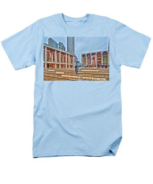 Steps To Fame Lincoln Center Men's T-Shirt  (Regular Fit) by Jeffrey Friedkin