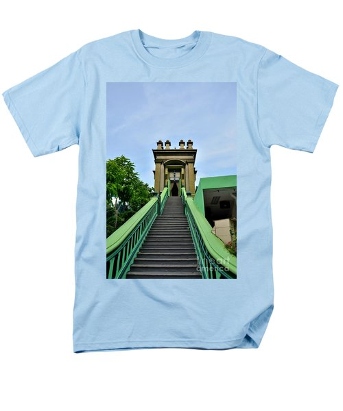 Steps To Muslim Mystic Shrine Singapore Men's T-Shirt  (Regular Fit) by Imran Ahmed