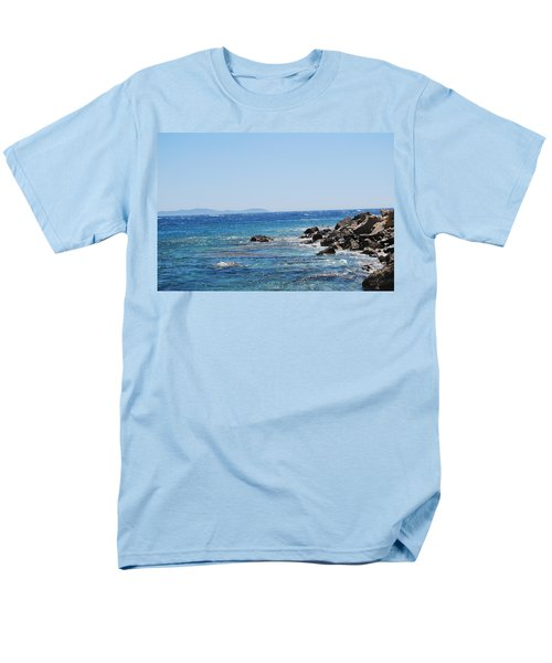 Men's T-Shirt  (Regular Fit) featuring the photograph Stiff Breeze by George Katechis