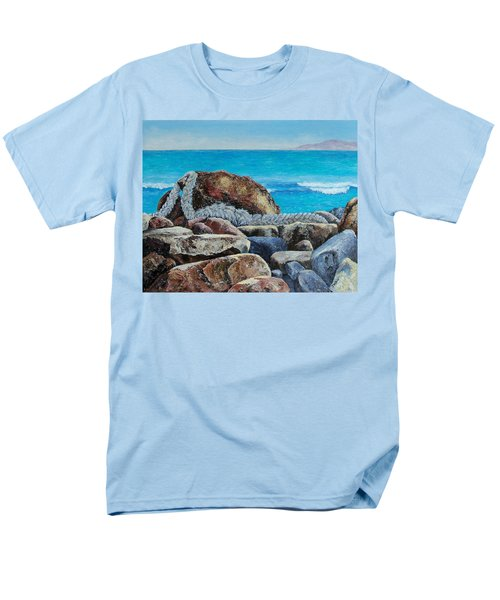 Men's T-Shirt  (Regular Fit) featuring the painting Stranded by Susan DeLain