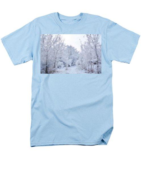 Stroll Through A Winter Wonderland Men's T-Shirt  (Regular Fit) by Diane Alexander