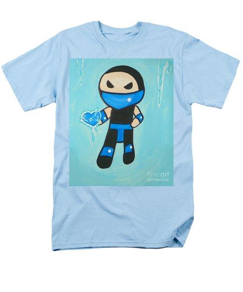 Subzero Frozen Heart Men's T-Shirt  (Regular Fit) by Marisela Mungia