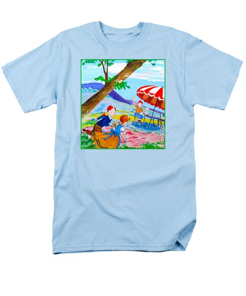 Men's T-Shirt  (Regular Fit) featuring the painting Sugarland Vintage by Beth Saffer