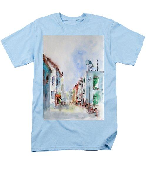 Men's T-Shirt  (Regular Fit) featuring the painting Summer Morning by Faruk Koksal