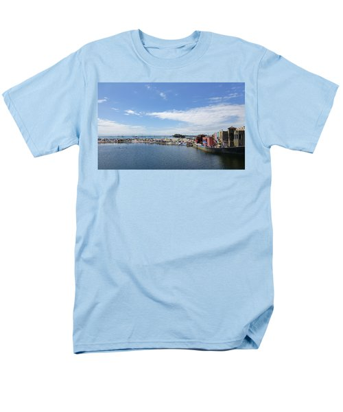 Summers End Capitola Beach Men's T-Shirt  (Regular Fit) by Amelia Racca
