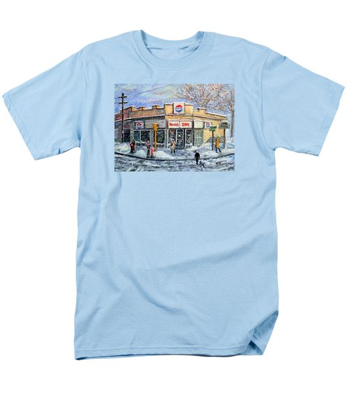 Sunday Morning At Renie's Spa Men's T-Shirt  (Regular Fit) by Rita Brown