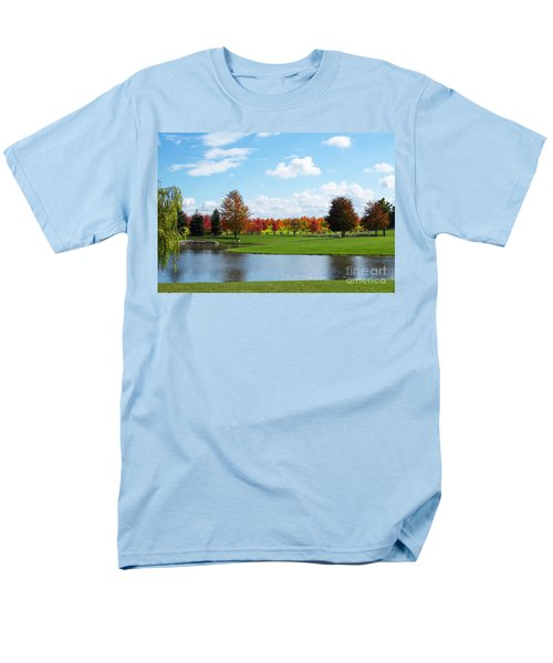 Sunshine On A Country Estate Men's T-Shirt  (Regular Fit) by Barbara McMahon