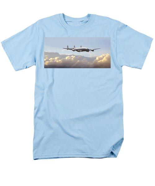 Super Constellation - End Of An Era Men's T-Shirt  (Regular Fit) by Pat Speirs