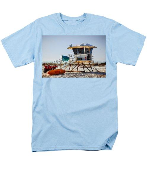 Surf Rescue Men's T-Shirt  (Regular Fit) by Sennie Pierson