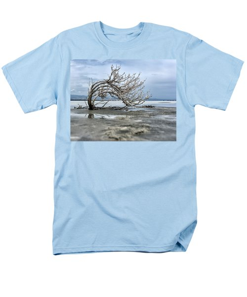A Smal Giant Bush Men's T-Shirt  (Regular Fit) by Mike Santis