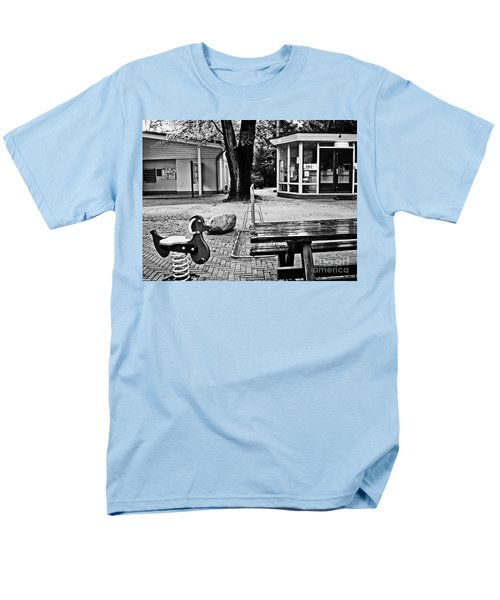 Men's T-Shirt  (Regular Fit) featuring the photograph Taking A Break by Andy Prendy