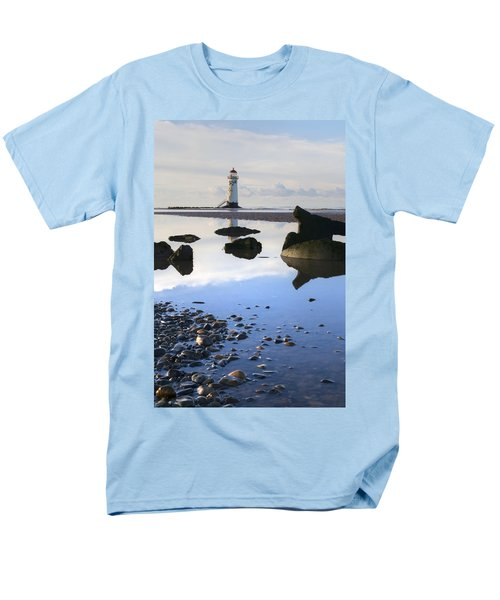 Talacer Abandoned Lighthouse Men's T-Shirt  (Regular Fit) by Spikey Mouse Photography