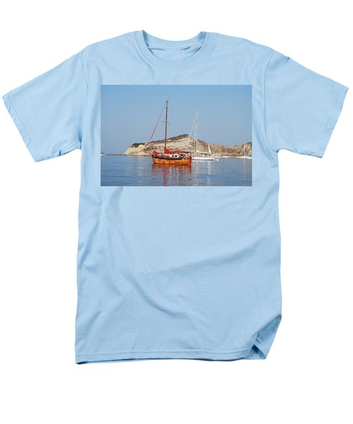 Men's T-Shirt  (Regular Fit) featuring the photograph Tall Ship by George Katechis