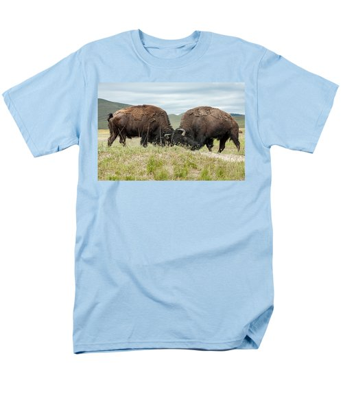 Men's T-Shirt  (Regular Fit) featuring the photograph Test Of Strength by Jack Bell
