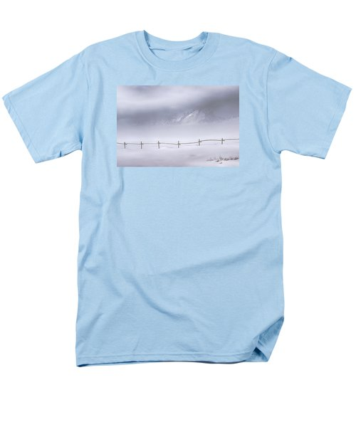 Men's T-Shirt  (Regular Fit) featuring the photograph Teton Morning by Priscilla Burgers