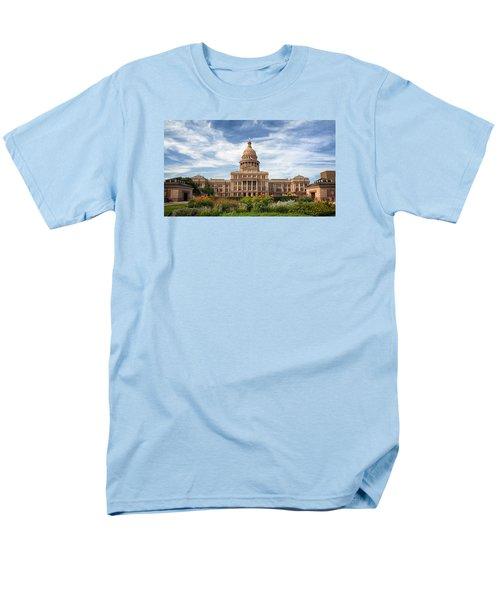 Texas State Capitol II Men's T-Shirt  (Regular Fit) by Joan Carroll