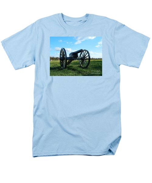 Men's T-Shirt  (Regular Fit) featuring the photograph The Battle Is Over - Gettysburg by Emmy Marie Vickers