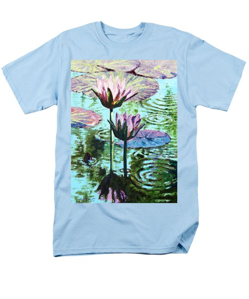 The Beauty Of The Lilies Men's T-Shirt  (Regular Fit) by John Lautermilch