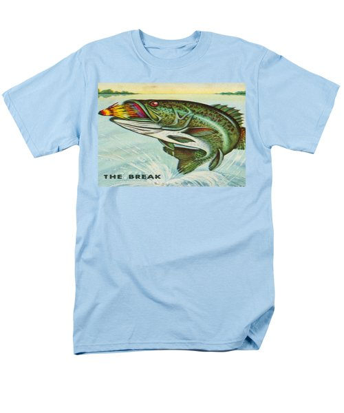 Men's T-Shirt  (Regular Fit) featuring the digital art The Break by Cathy Anderson