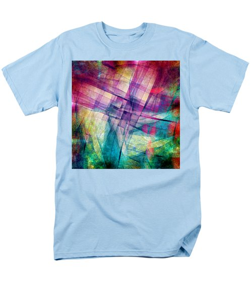 The Building Blocks Men's T-Shirt  (Regular Fit) by Angelina Vick