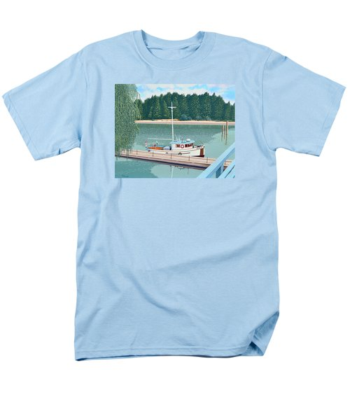 The Converted Fishing Trawler Gulvik Men's T-Shirt  (Regular Fit) by Gary Giacomelli
