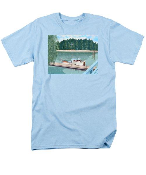The Converted Fishing Trawler Gulvik Men's T-Shirt  (Regular Fit)