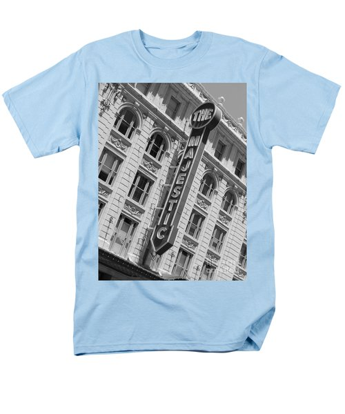 Men's T-Shirt  (Regular Fit) featuring the photograph The Majestic Theater Dallas #3 by Robert ONeil