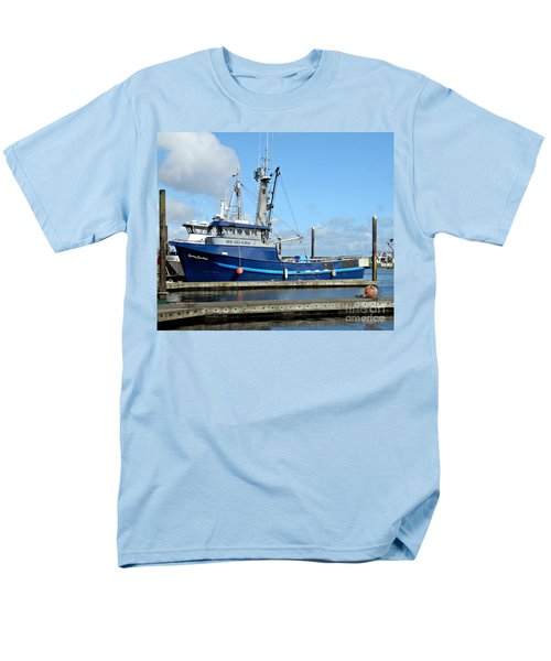 The Mighty Blue Men's T-Shirt  (Regular Fit) by Chalet Roome-Rigdon
