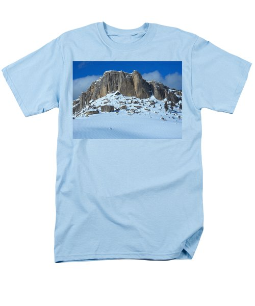 The Mountain Citadel Men's T-Shirt  (Regular Fit) by Michele Myers