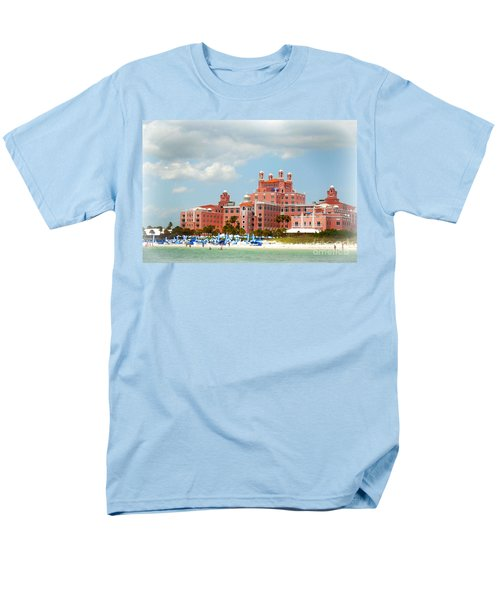 The Pink Palace Men's T-Shirt  (Regular Fit) by Valerie Reeves