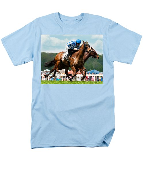 The Race Is On Men's T-Shirt  (Regular Fit) by Robert L Jackson