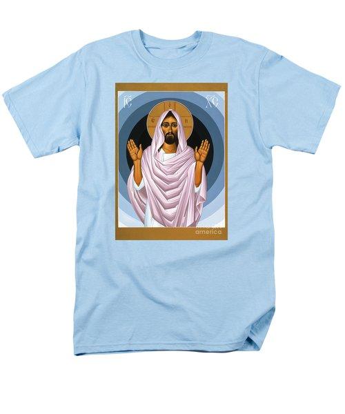 The Risen Christ 014 Men's T-Shirt  (Regular Fit) by William Hart McNichols