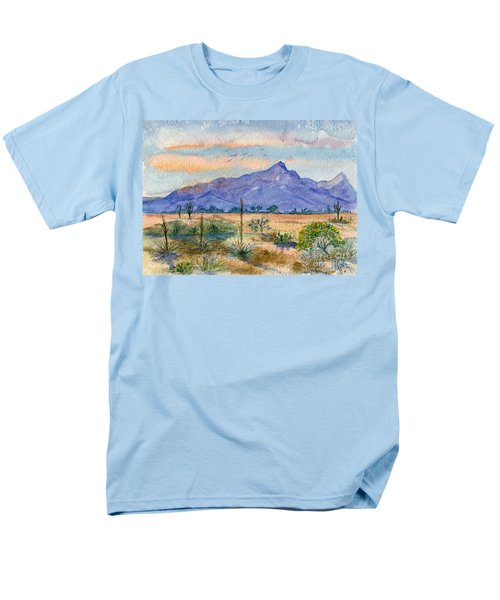 The San Tans Men's T-Shirt  (Regular Fit) by Marilyn Smith