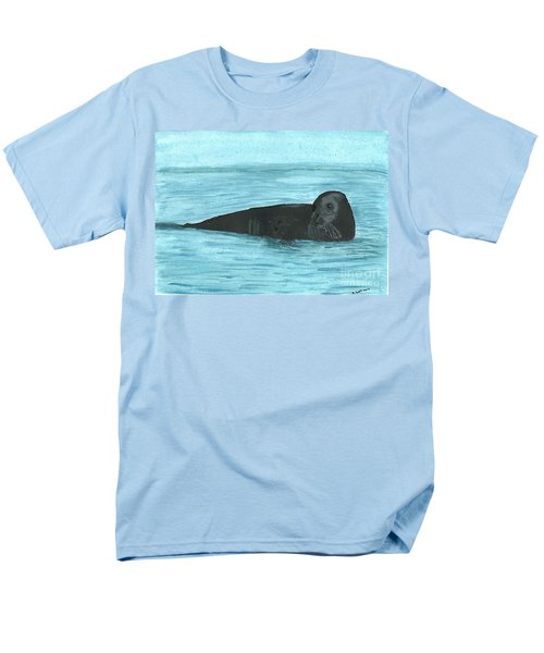 Men's T-Shirt  (Regular Fit) featuring the painting The Seal by Tracey Williams