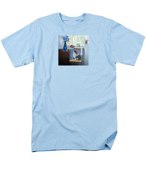 The Studio Cat Men's T-Shirt  (Regular Fit) by Loretta Luglio