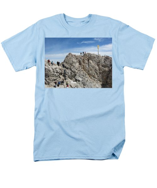 Men's T-Shirt  (Regular Fit) featuring the photograph The  Summit - 1 by Pema Hou
