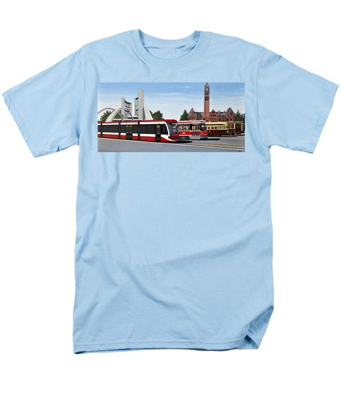 The Toronto Streetcar 100 Years Men's T-Shirt  (Regular Fit) by Kenneth M  Kirsch