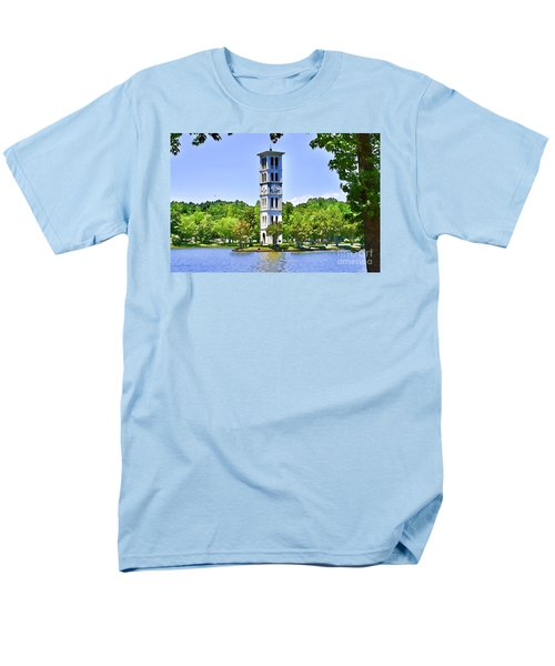 Men's T-Shirt  (Regular Fit) featuring the photograph The Tower by Larry Bishop