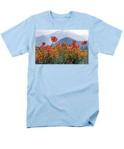 The Tulips In Bloom Men's T-Shirt  (Regular Fit) by KG Thienemann