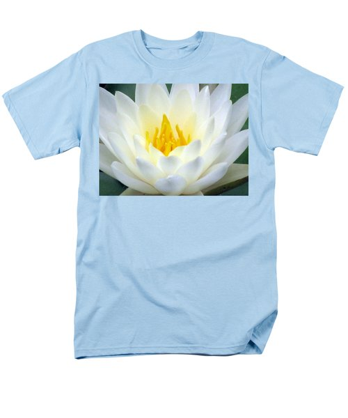Men's T-Shirt  (Regular Fit) featuring the photograph The Water Lilies Collection - 05 by Pamela Critchlow