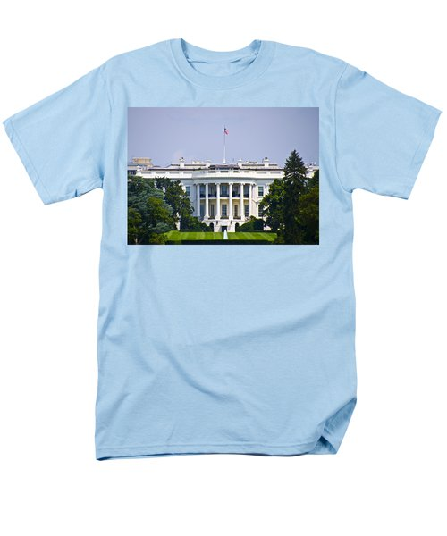 The Whitehouse - Washington Dc Men's T-Shirt  (Regular Fit) by Bill Cannon
