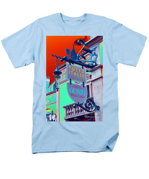 Men's T-Shirt  (Regular Fit) featuring the photograph The Wine Cellar II by Robert Meanor