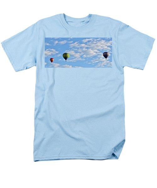 Three Beautiful Balloons In Cortez Men's T-Shirt  (Regular Fit) by Janice Rae Pariza