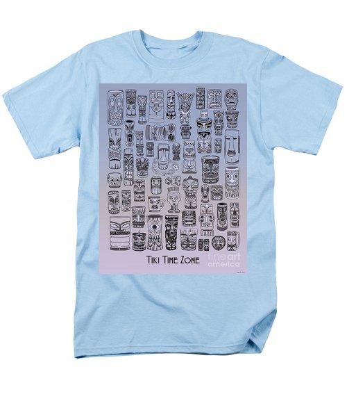 Tiki Cool Zone Men's T-Shirt  (Regular Fit) by Megan Dirsa-DuBois