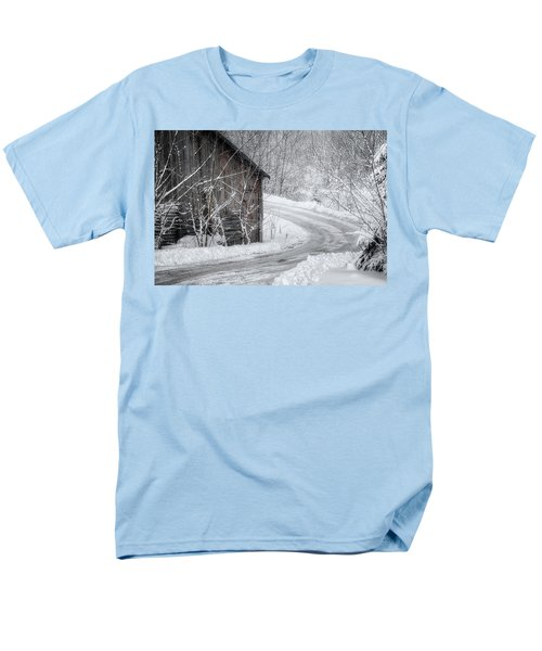 Touched By Snow Men's T-Shirt  (Regular Fit) by Joan Carroll