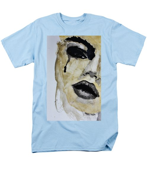 Men's T-Shirt  (Regular Fit) featuring the painting Tougher Than You Think 3 by Michael Cross