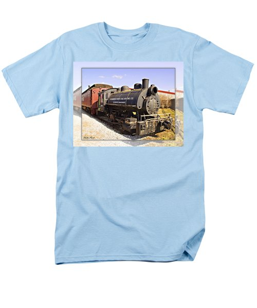 Train Men's T-Shirt  (Regular Fit) by Walter Herrit