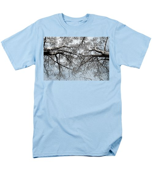Trees  1 Men's T-Shirt  (Regular Fit) by Minnie Lippiatt