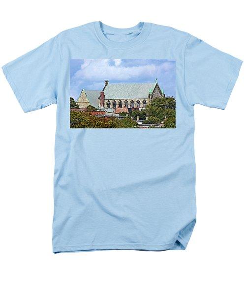 Men's T-Shirt  (Regular Fit) featuring the photograph Trinity Church by Kristin Elmquist